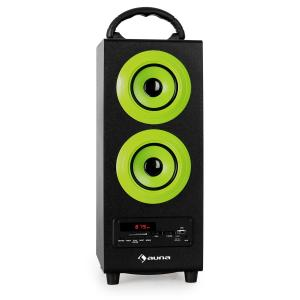 auna BeachBoy Enceinte USB SD Bluetooth FM -verte