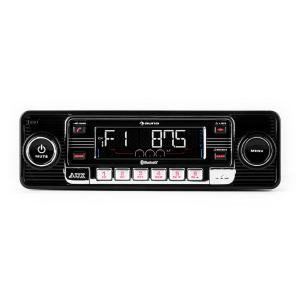RMD-Sender-One autoradio Bluetooth USB CD MP3 AUX -noir