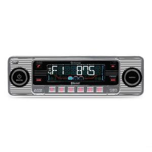 auna RMD-Sender-Two autoradio Bluetooth USB CD MP3 -argent