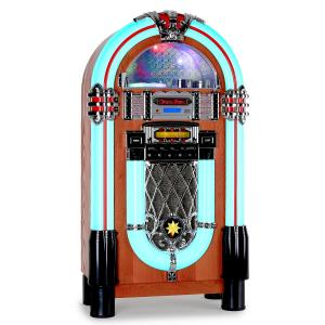 Auna Graceland-XXL Jukebox USB SD AUX CD FM/AM