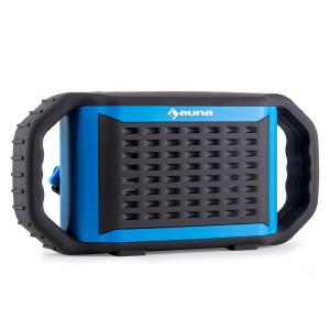 Auna Poolboy Enceinte bluetooth USB AUX étanche -bleu