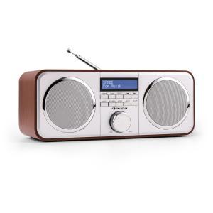 Georgia DAB-Radio DAB+ UKW Senderspeicher Wecker AUX Kirsche