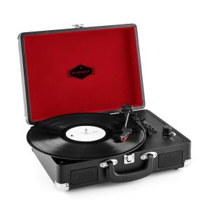 Peggy Sue Suitcase Retro Turntable LP USB Black