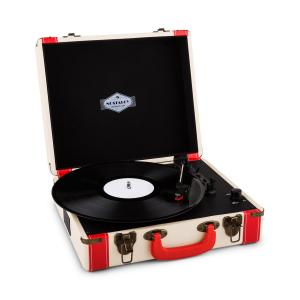 Jerry Lee Retro-Plattenspieler LP USB weiß