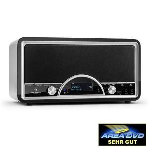 auna Virginia BK DAB/DAB+ Radio numérique Bluetooth USB FM AUX MP3 -Noir