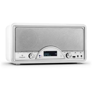Virginia WH DAB/DAB+ Digitalradio Bluetooth USB UKW AUX MP3 weiß