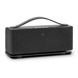 Auna Sound Steel Bluetooth Altoparlante Alluminio Spazzolato Nero