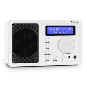 Auna DR-130 BT Digital Radio DAB+ Built in Stereo Speakers