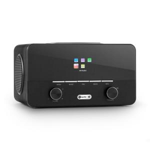 auna Connect 150 BK 2.1 Internet Radio Lettore USB WLAN DAB + FM
