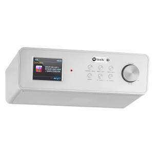 "KR-200 Kitchen Radio Base Internetradio Spotify Connect 2.4"" Color Display WiFi DAB+ FM RDS AUX Alarm"