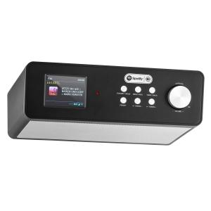 "KR-200 Base Kitchen Radio Internetradio Spotify Connect 2.4"" colour Display WiFi DAB+ FM Alarm"