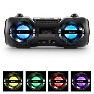 auna Soundblaster Stereo Boombox Bluetooth 3.0 CD/MP3/USB max. 50W