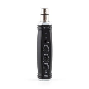 AI-01 XLR-USB Converter Microphone 16bit 48V Phantom Power Plug & Play