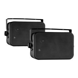 CB105 Passive 2-Way Speakers 20W max. Pair Black incl. Mounting Bracket