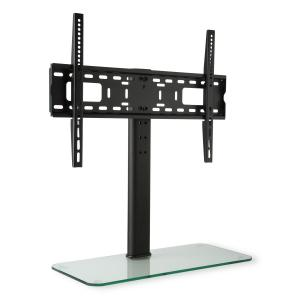 "TV Stand Size L Height 75 cm Height Adjustable 23-55"" GlassBase"