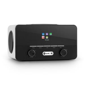 auna Connect 150 WH 2.1 Internet Radio Mediaplayer WLAN LAN USB DAB+ FM RDS AUX