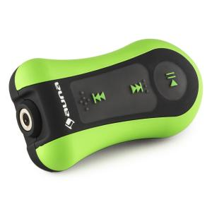 Hydro 8 MP3 Player Green 8GB IPX8 Waterproof Clip incl. Headphones