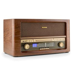 Belle Epoque 1906 DAB equipo de sonido retro CD MP3 USB AUX AM/FM
