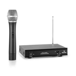 VHF-1-H 1-Channel VHF Wireless Microphone Set Hand Microphone 50m