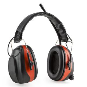 Jackhammer BT Noise-canceling Headphones FM Radio 4.0 Bluetooth Aux-In SNR 28dB