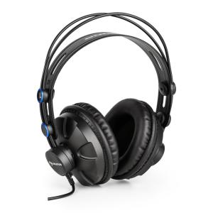 auna HR-580 Cuffie professionali Cuffie Over-Ear chiuse Blu