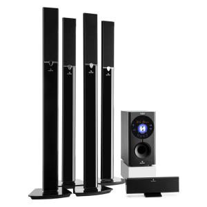 auna Areal 653 Système home cinema surround 5.1 Bluetooth USB SD AUX 145W