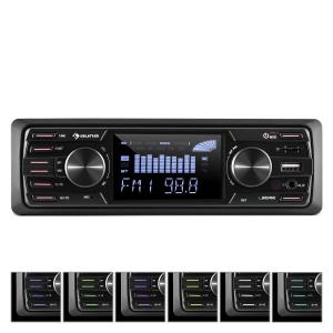 auna MD-350BT Autoradio Deckless BT USB SD MP3 4x45 W max. 3