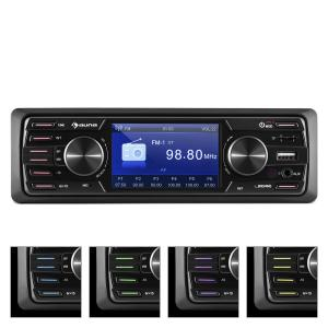 auna MD-350BT Autoradio/Moniceiver Deckless BT USB SD 3