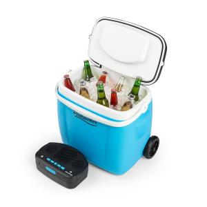auna Picknicker Trolley Music Cooler 36l Trolley Borsa Frigo Altoparlante BT blu