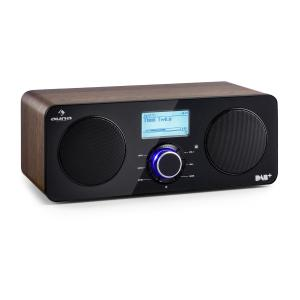 Worldwide Stereo Internet Radio Spotify Connect App Control BT Walnut