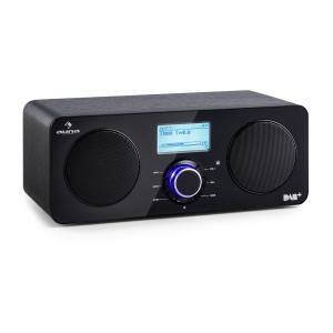 Worldwide Stereo Internet Radio Spotify Connect App Control BT Black