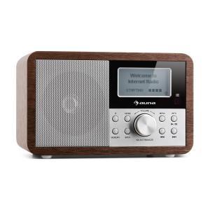 Worldwide Mini Radio de internet WLAN Reproductor de red USB MP3 AUX Sintonizador FM