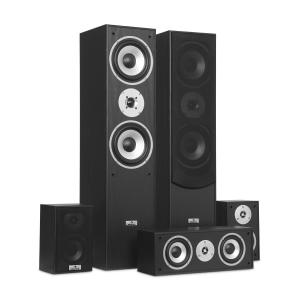 Surround Casse Acustiche Set Homecinema 335 W RMS Nero
