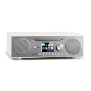 Connect CD Internet Radio Media Player BT MP3 DAB+ Spotify Connect Radio White