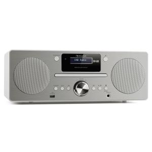 Harvard Mini Audio System DAB/DAB+ FM Tuner CD Player USB Charger white