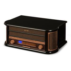Belle Epoque 1908 Retro Stereo System Record Player USB CD MP3 Micro System