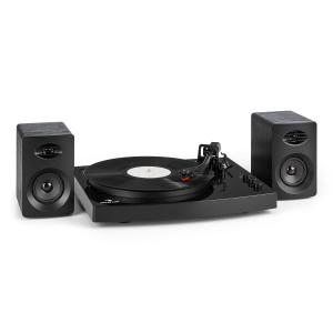 "TT-Play Record Player 2 Stereo Speakers (3""/10W) BT 33 1/3 & 45 RPMBlack"