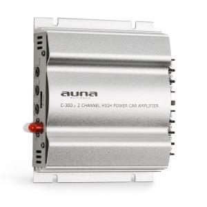 C300.2 amplificador de 2 canales para coche de 200 W (2 x 100 W RMS) plateado