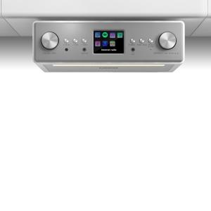 "Connect Soundchef Substructure Kitchen Radio Internet DAB+ FM 2x3"" Speakers white"