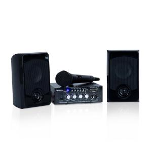 auna Karaoke Star 1 Kit karaoké, 2 x 50 W max., BT, USB/SD, Line-In