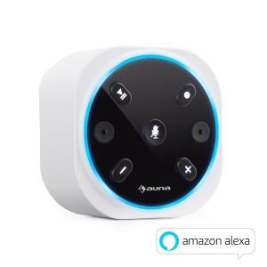 Intelligence Plug Intelligenter Lautsprecher mit Alexa / WiFi-Steckdosen-Lautsprecher | Alexa Voice Service | AppControl für Multiroom | Verbindung mit Amazon Music / audible / Pandora / TuneIn / Spotify Connect | BT | Multiroom | weiß
