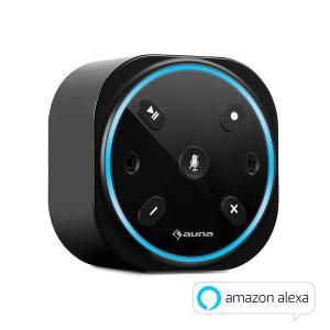 Intelligence Plug Intelligenter Lautsprecher mit Alexa / WiFi-Steckdosen-Lautsprecher | Alexa Voice Service | AppControl für Multiroom | Verbindung mit Amazon Music / audible / Pandora / TuneIn / Spotify Connect | BT | Multiroom | schwarz