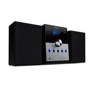 MC-30 DAB Stereoanlage | CD-Player | Bluetooth-Funktion für Audiostreaming | DAB+/UKW Radio | 2,4