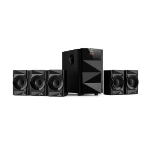 Z-Plus 5.1 Lautsprechersystem 70 W RMS OneSide Subwoofer BT USB SD
