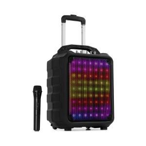 auna Moving 80.1 LED equipo de PA Woofer de 8