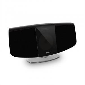 auna BlackMask Impianto Stereo Verticale CD Tuner FM e DAB+ BT nero
