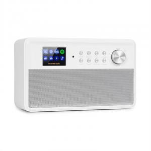 "Connect Link Smart Radio IR/DAB+/UKW Spotify BT 2,4"" HCC Display weiß"