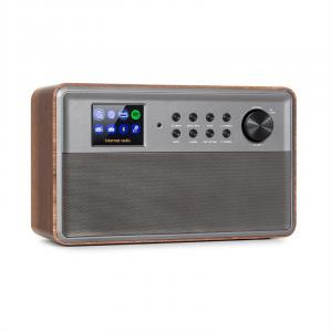 "Connect Link Smart Radio IR/DAB+/UKW Spotify BT 2,4"" HCC Display holz"