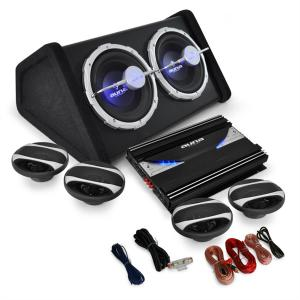 Auna Black Line500 Set Car HiFi 4.1 5000W