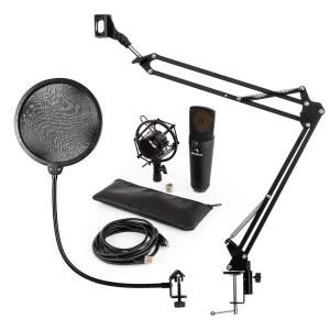 MIC-920B USB Microphone Set V4 Condenser MicrophoneMicrophone Arm Pop Protection